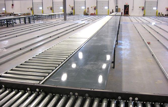 Gravity Roller Conveyor for Medium-Weight Applications